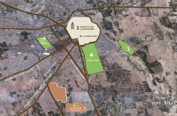 Lot de terrain de 458 m² - Marrakech