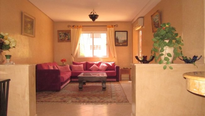 Victor Hugo Apt cosy de 71 m² avec parking - Marrakech
