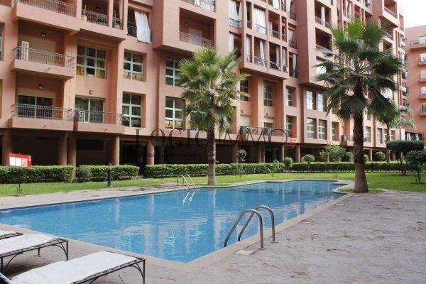 Appartement 3 pi ces meubl secteur jardin majorelle ref - Residence les jardins de majorelle marrakech ...