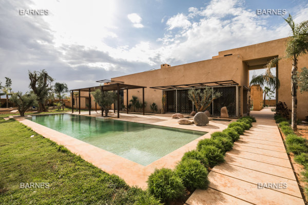 A VENDRE VILLA CONTEMPORAIN MARRAKECH PALMERAIE - Marrakech