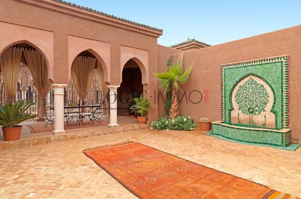 Villa Noor 3 Chambres En Suite Avec Grand Patio Fontaine 260 M²