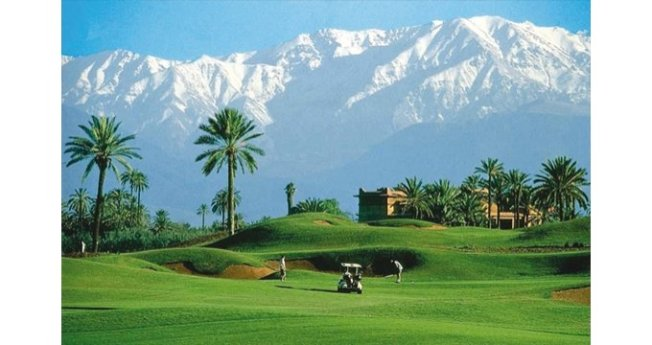 Golf d'Amelkis - Marrakech
