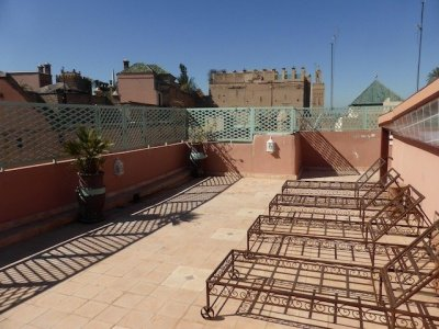 Riad 4 chambres, parking devant la porte… - Marrakech