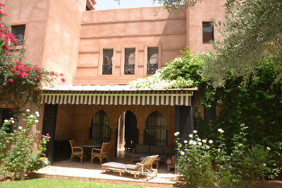 3 CH  - POSSIBILITE 4 - RESIDENCE SECURISEE - Marrakech