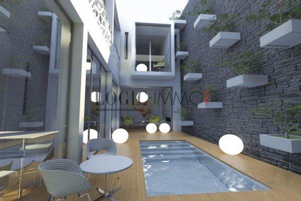 Exclusivit riad loft vente riad marrakech for Construction piscine kenitra