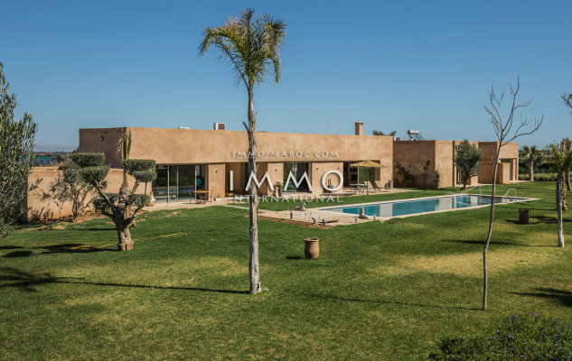 Villa contemporaine plain pieds - Marrakech